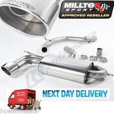 Milltek Non Resonated Louder Cat Back Exhaust System Seat Leon Cupra 2.0 Tfsi
