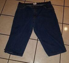 Women's Jeans,Capri Mainstreet Blues Stretch Size 24W