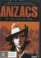 ANZACS IN THE FACE OF WAR - NEW & SEALED DVD FREE LOCAL POST