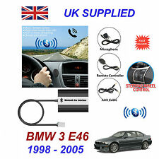 BMW 3 E46 Bluetooth Hands Free Phone AUX Input MP3 USB 1.0A Charger Module 17pin