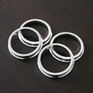 (4) Aluminum Hub Centric Rings - 57.1mm - 66.6mm (57.1-66.56)