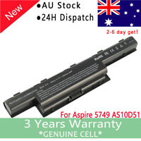 Battery for Acer TravelMate 4740 5542 5735 5740 5742 5760 7740 8472 8572 5250 AU
