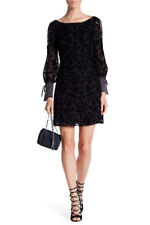 NEW!!! NANETTE LEPORE Velvet Paisley Cold Shoulder Dress $179