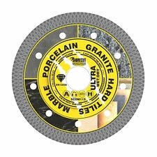 SabreCut 115mm Thin Turbo Diamond Grinder Cutting Blade Disc for Tiles 4.5inch