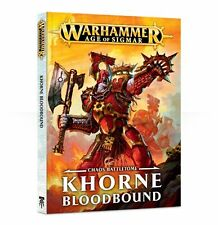 Warhammer Age of Sigmar, Chaos Battletome: Khorne Bloodbound, Softcover Italiano