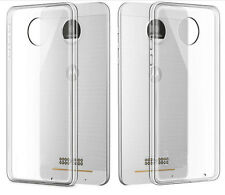Ultra Thin Gel Clear Rubber Silicone Soft TPU Case Cover For  MOTO Z FORCE/ PLAY