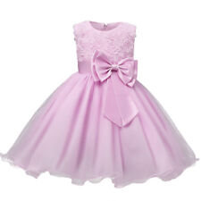 Flower Girl Dress Kids Princess Party Wedding Pageant Formal Tulle Tutu Dresses