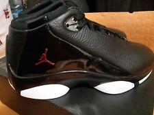 Nike Shoes Air Jordan Jumpman Team Flow Black/Gym Red-White size 8 no box lid