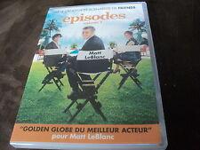 """COFFRET 2 DVD NEUF """"EPISODES - SAISON 1"""" Matt LeBLANC"""