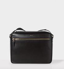 """Paul Smith bag-nuova con etichetta in pelle in rilievo """"City"""" Rainbow Stripe Messenger RRP: £ 390"""