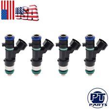 Set of 4 Fuel Injectors 16600-JA000 OEM Bosch for Nissan Rogue Altima Sentra 2.5