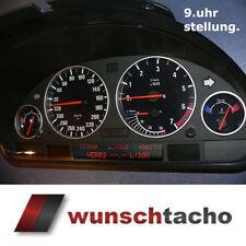 """Speedometer Dial for BMW E38-E39/E53/X5 """" 9 uhr-stellung """" Petrol"""