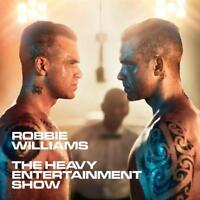 ROBBIE WILLIAMS - HEAVY ENTERTAINMENT SHOW Deluxe Edition CD & DVD NEW