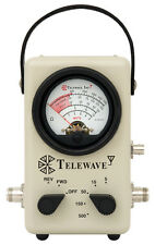 Telewave 44L1P Broadband 2-200 MHz RF Wattmeter (New) No Elements to Buy!