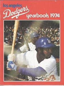 1974 Los Angeles Dodgers Yearbook NL Champs Steve Garvey Ron Cey Tommy John