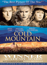 COLD MOUNTAIN Special Edition 2-Disc DVD Set Nicole Kidman Jude Law NEW
