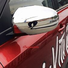 2pcs Chrome Side Review Mirror Cover Fit Suzuki Vitara 2016 2017