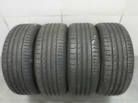 4x Sommerreifen Continental Sport Contact 5 SSR * RSC 225/50 R18 95W / 6,5 mm