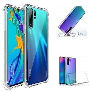 Étui Pour Huawei P30 P30 Pro P30 Lite Ultra Slim Antichoc Silicone Clair Housse