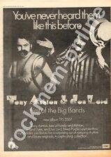 Tony Aston & Jon Lord Deep Purple First Of The Big TPS 3507 MM3 LP advert 1973