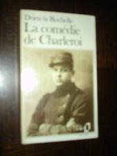 LA COMEDIE DE CHARLEROI - Drieu la Rochelle 1982