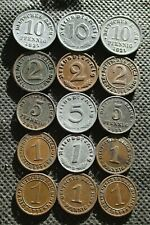 OLD COINS OF GERMANY (GERMAN EMPIRE - WEIMAR REPUBLIC - THIRD REICH) - MIX 891