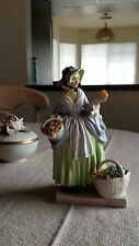 """Royal Doulton """"Spring Flowers"""" Figurine - Excellent Condition"""