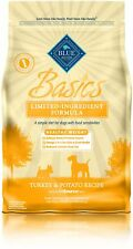 Blue Basics Limited Ingredient Diet Adult Healthy Weight Turkey Potato Dry Dog