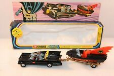 Corgi Toys Gift Set 3 GS3 Batmobile + Batboat scarce set VNMIB All original