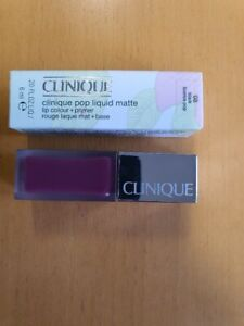 Clinique Pop Lacquer Lip Colour + Primer - Rouge laque + Base  08 BLACK LICORICE