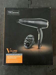 Tresemme 5543 Salon Professional Diffuser Hair Dryer 3 Heat/Speed Settings 2200W