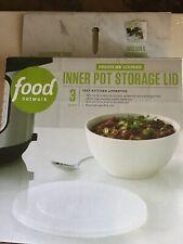 Pressure Cooker Inner Pot Storage Lid (3 Qt.) New Fits Instant Pot 3 Quarts