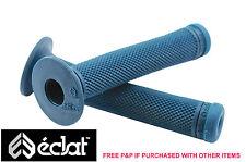 Eclat Ashley Charles firma Bmx apretones de manillar, elastómero de caucho Verde Azulado