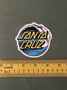 santa cruz Wave Sticker/decal Surfing
