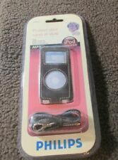 New Philips Leather Case iPod Nano Music Travel Protect MP3