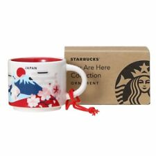 Starbucks 2017 JAPAN Limited 2oz 59ml demitasse cup you are here collection
