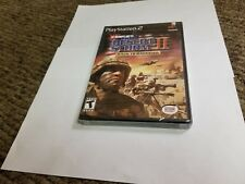 Conflict: Desert Storm II -- Back to Baghdad (Sony PlayStation 2, 2003) new