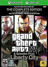 Grand Theft Auto IV GTA 4 Complete Edition Xbox One or Xbox 360 Brand New