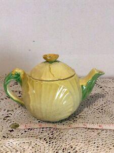 Vintage Carlton Ware Yellow Buttercup Teapot