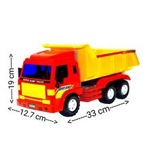 Big-Daddy Dump Truck Lorry With Tipper Construction Work Vehicle Car Toy