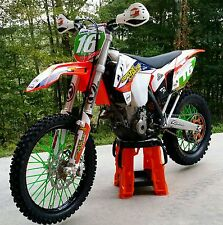 KTM 250 SPOKE COATS MX /  colored spokes, covers, wraps, skins, wheels