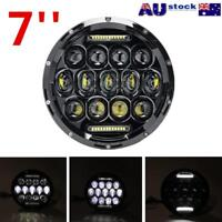 7 inch 200W Round LED Headlights Kit For Jeep Wrangler TJ JK 97-17 AU