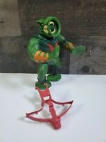 MOTU Vintage  Leech 1984 Masters of the Universe He-Man Complete With Crossbow
