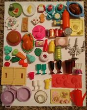BARBIE Kitchen Assorted Food & Dishes