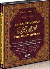 HOLY Quran complete on dvd koran Arabic/english/french