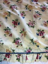 Laura Ashley Carlisle Yellow Floral King Sham