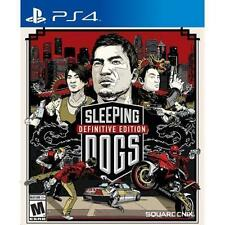 Sleeping Dogs -- Definitive Edition (Sony PlayStation 4, 2014)
