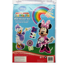 Large Disney Wall Stickers Childrens Bedroom Furniture Decorating Kits Boy Girl Minnie Mouse & Friends