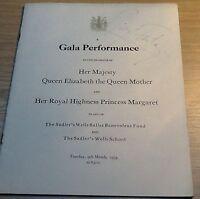 MARGOT FONTEYN   Royal Gala Performance 1954 Programme SIGNED VERY RARE  ITEM