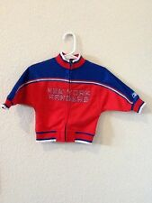 NHL New York Rangers Zip-Up Jersey Jacket Coat Size 6-9 Months